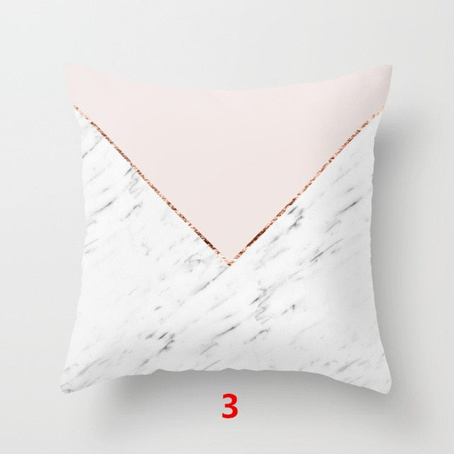 Marble Print Pillowcase