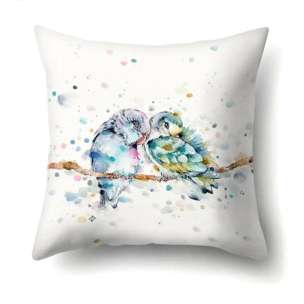 Watercolor Animal Pillowcase