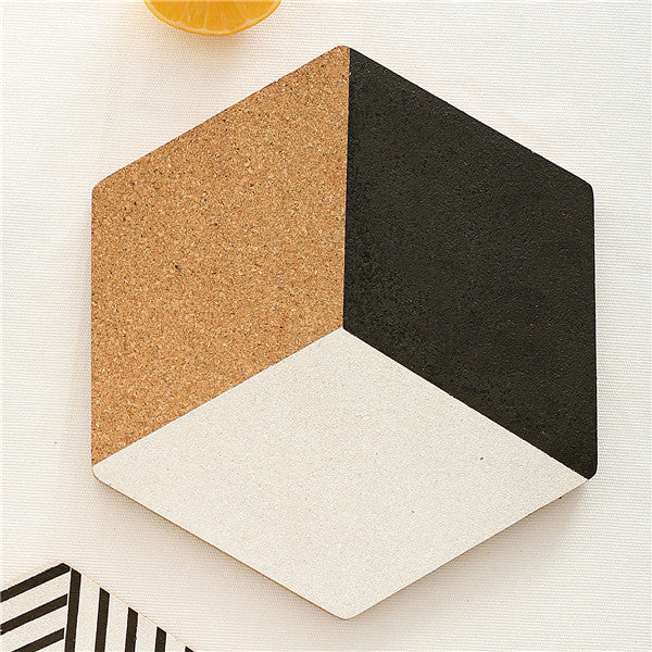 Geometric Wooden Coasters