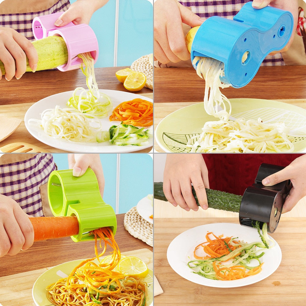 Spiral Vegetable Cutter and Peeler