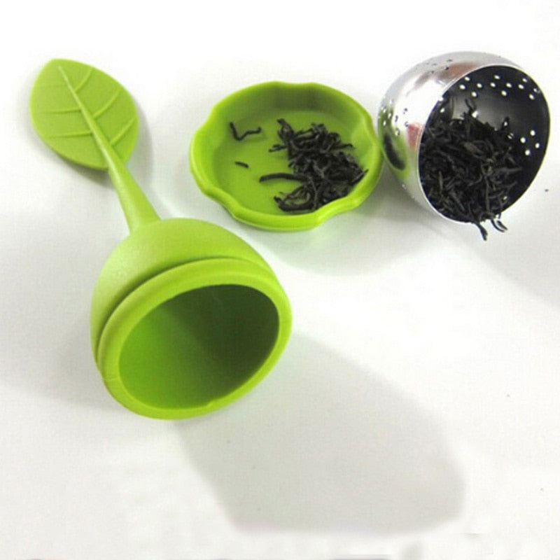 Silicone & Stainless Steel Tea Leaf Filter
