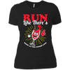 Run Like There's Wine - Ladies T-Shirt