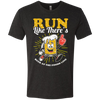 Run Like There's Beer - Men's T-Shirt