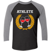 Wine Athlete - Baseball Sleeve T-Shirt