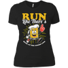 Run Like There's Beer - Ladies T-Shirt