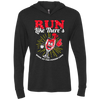 Run Like There's Wine - Unisex Hooded T-Shirt
