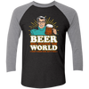 Change The World - Baseball Sleeve T-Shirt