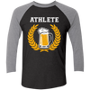 Beer Athlete - Baseball Sleeve T-Shirt