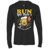 Run Like There's Beer - Unisex Hooded T-Shirt
