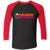 Drunkin Growups - Sleeve Baseball T-Shirt