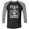 Banging Gears - Baseball Sleeve T-Shirt