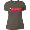 Drunkin Growups - Ladies T-Shirt