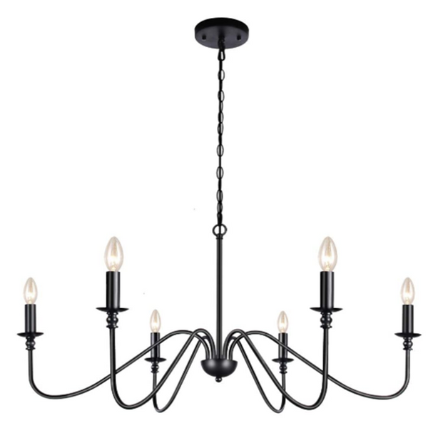 Bonny Farmhouse 6 light Classic Chandelier