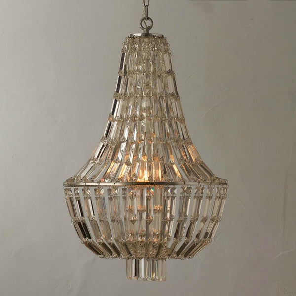 crystal beaad chandelier large imperial