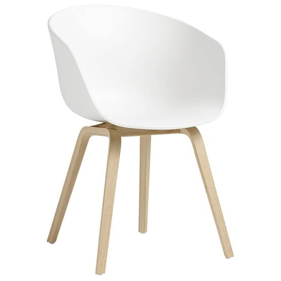 White Narvik HAY Chair