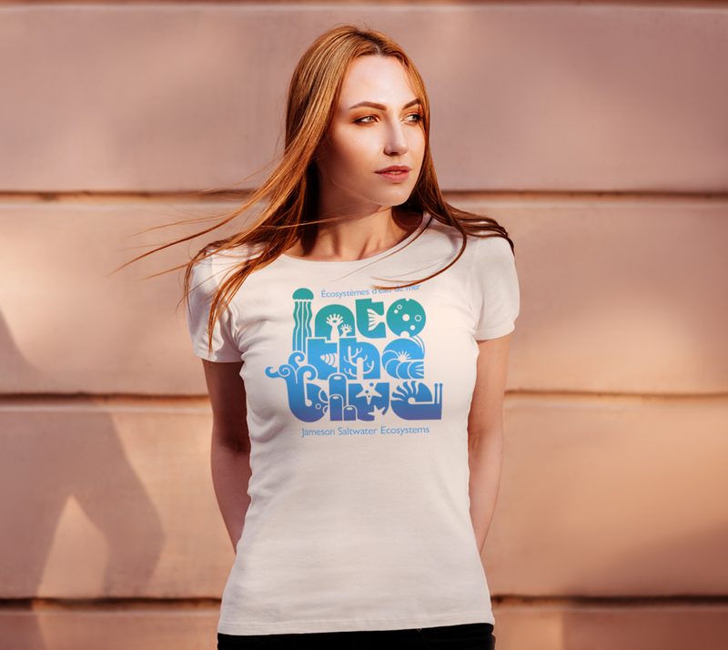Women's T-shirts – Into the blue