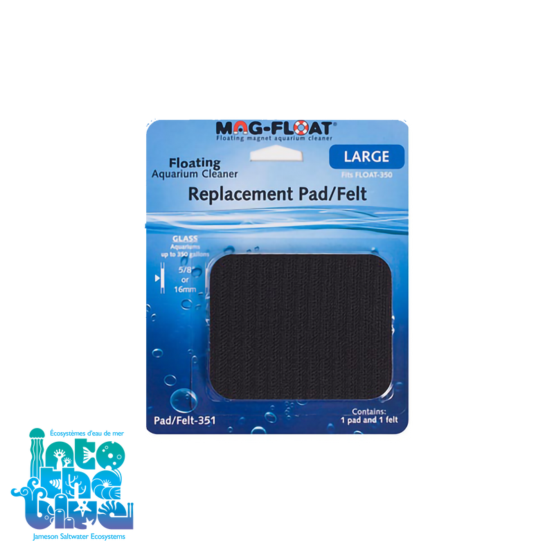 Mag-Floats - Floating Magnet Aquarium Cleaner | Replacement Pads