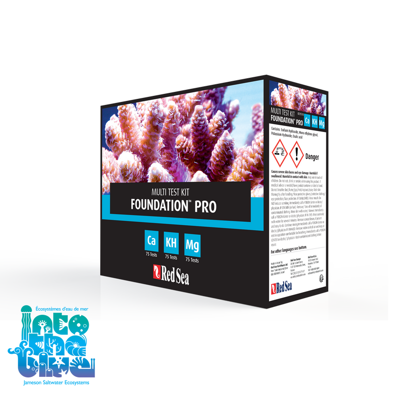 Red Sea - Foundation Pro | Multi Test Kit
