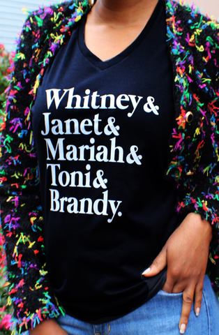 R&B Queens of the 90s T-Shirt