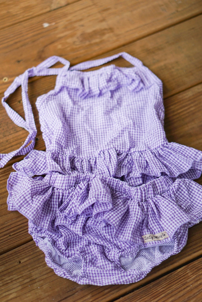 Ruffle Tankini Swimsuits