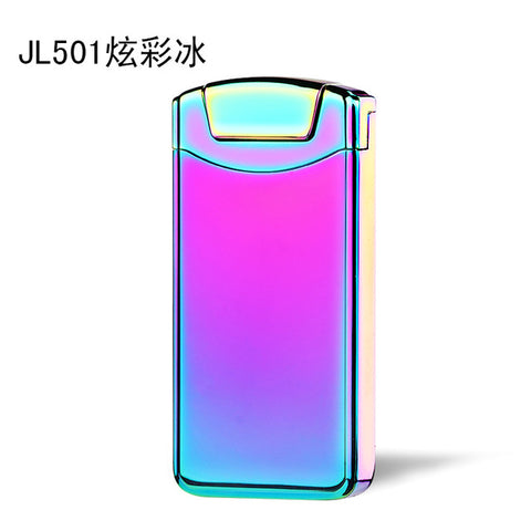 Rechargeable Classic Plating Electric Pulse Arch Lighter