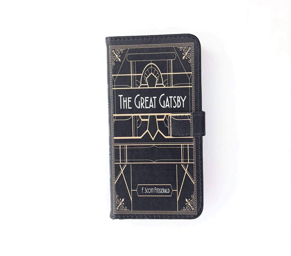 """The Great Gatsby"" by F. Scott Fitzgerald Phone Case"
