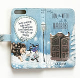 """The Lion, Witch and the Wardrobe"" Narnia by CS Lewis - Phone Case"