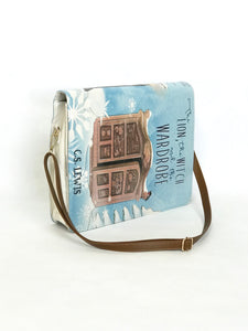 """The Lion, the Witch and the Wardrobe"" by C.S. Lewis - Messenger Bag"