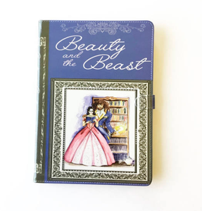 """Beauty and the Beast"" by Gabrielle-Suzanne Barbot de Villeneuve - iPad Case"