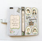 """Little Women"" by Louisa May Alcott - Phone Case"