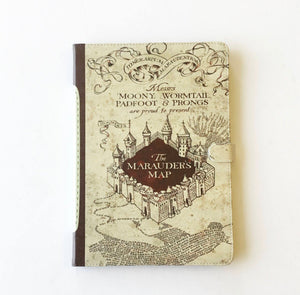 """The Marauders Map"" from Harry Potter - iPad Case"