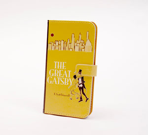 """The Great Gatsby"" by F. Scott Fitzgerald - Phone Case"