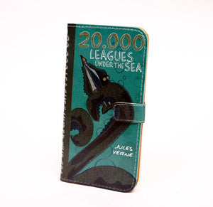 """20,000 Leagues Under the Sea"" by Jules Verne - Phone Case"