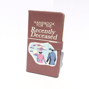 """The Handbook for the Recently Deceased"" from Beetlejuice - Phone Case"