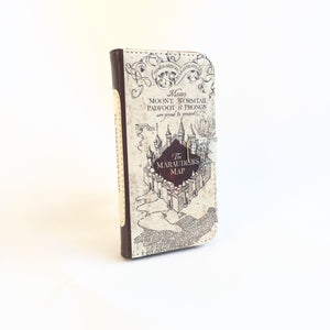"""The Marauders Map"" from Harry Potter - Phone Case"