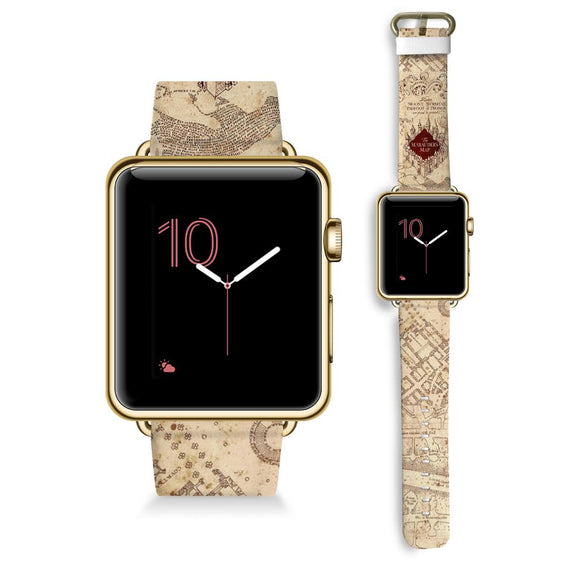 The Marauders Map - Watch Band