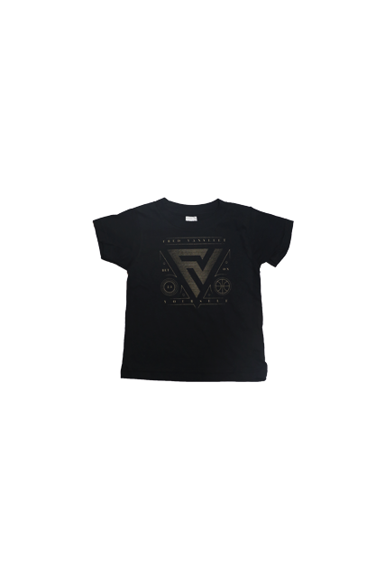 "Kids FVV x B$Y ""Gold"" T-Shirt"