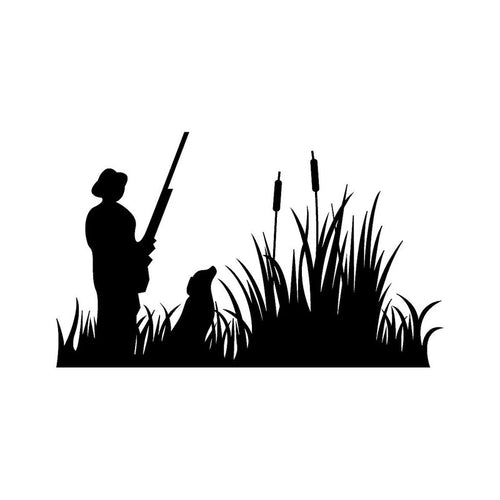 Hunter Duck Hunting Car Decal