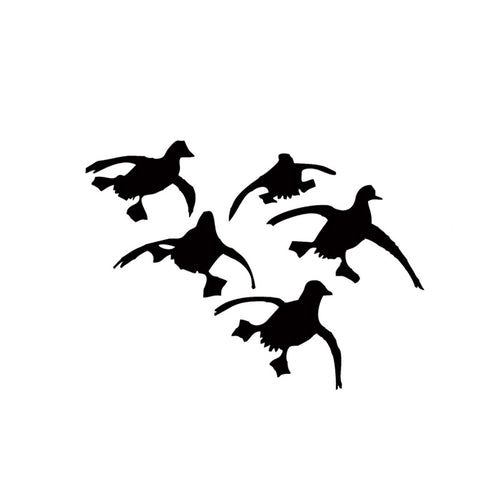 Flying Ducks Landing Hunting Decals sticker Waterfowl Dynasty Duck Commander