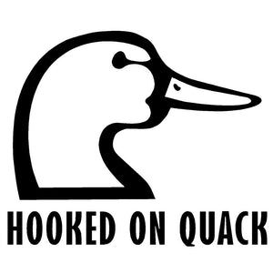 Hooked On Quack Decal