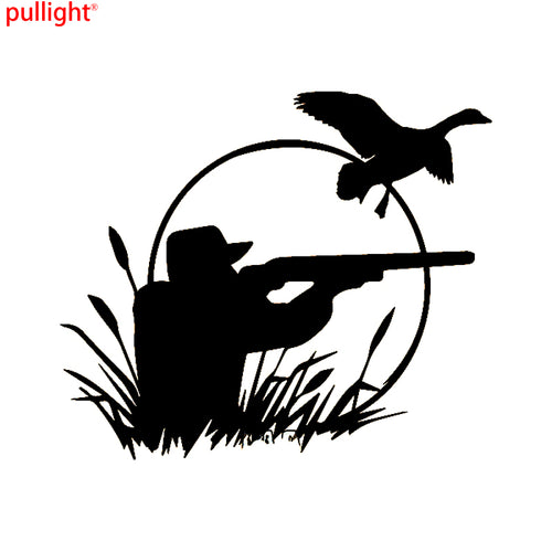 Hunter Wild Duck Hunting Car Decals Vinyl Stickers Fashion Car-Styling