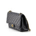 Chanel Classic Flap Jumbo Caviar Leather Crossbody Bag