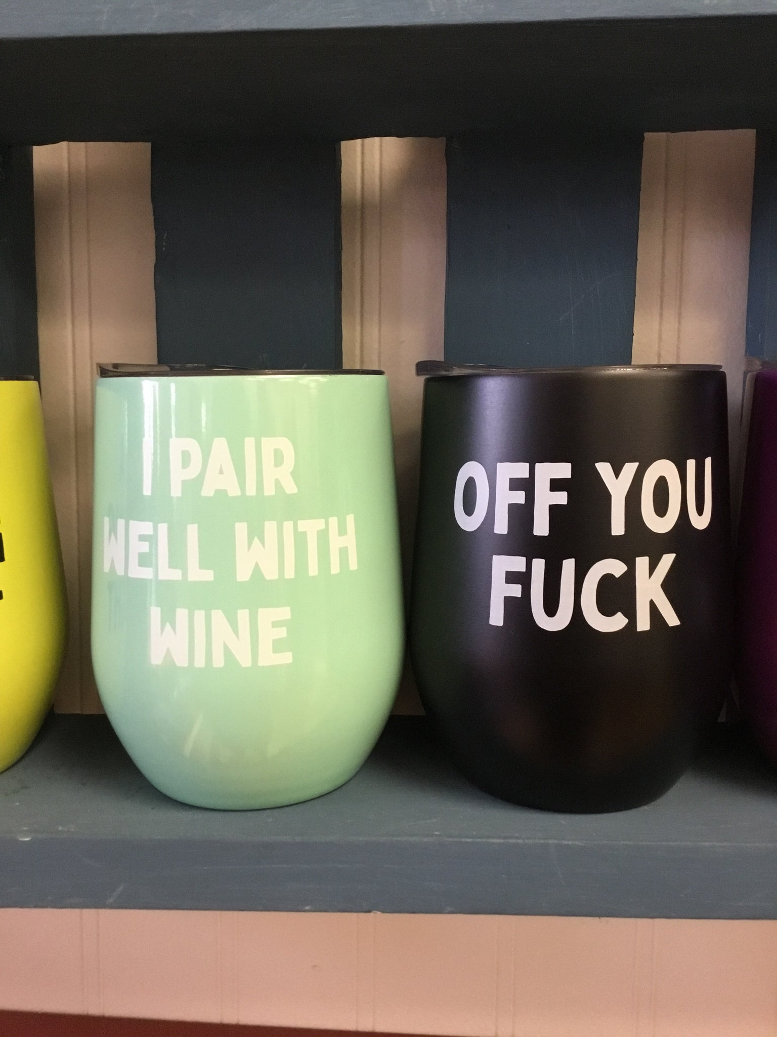 Bright Bad Mouth wine cups