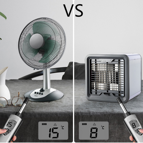 cool summer vs ventilateur