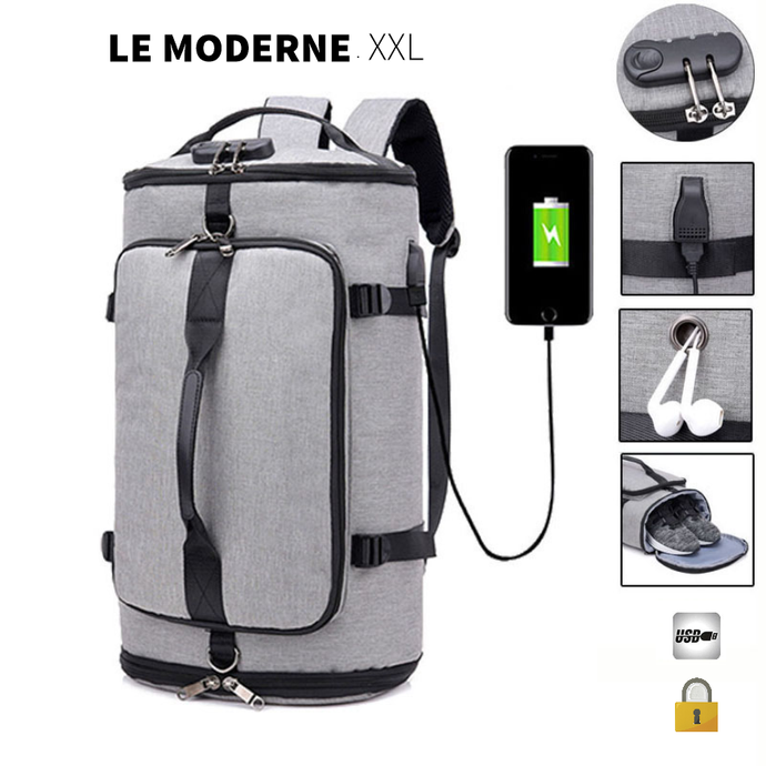 Le Moderne XXL | Sac à dos voyage FULL OPTION