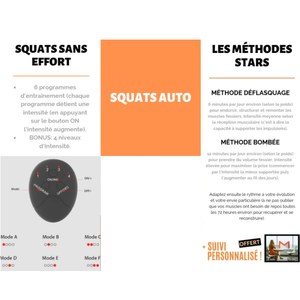 Squats Auto | Arrondisseur Naturel