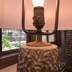 Slash Carved Lamp