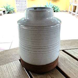 Farmhouse Stoneware Vase