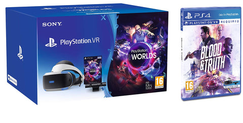 PlayStation VR Starter Pack + Blood & Truth (PS VR)