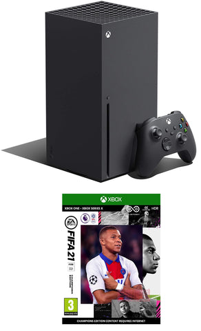 Xbox Series X + FIFA 21 Champions Edition Bundle